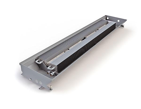 Двухконтурный внутрипольный конвектор на отопление-охлаждение
