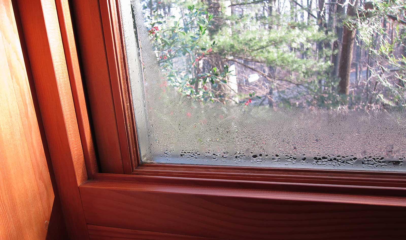 Отпотевшие окна