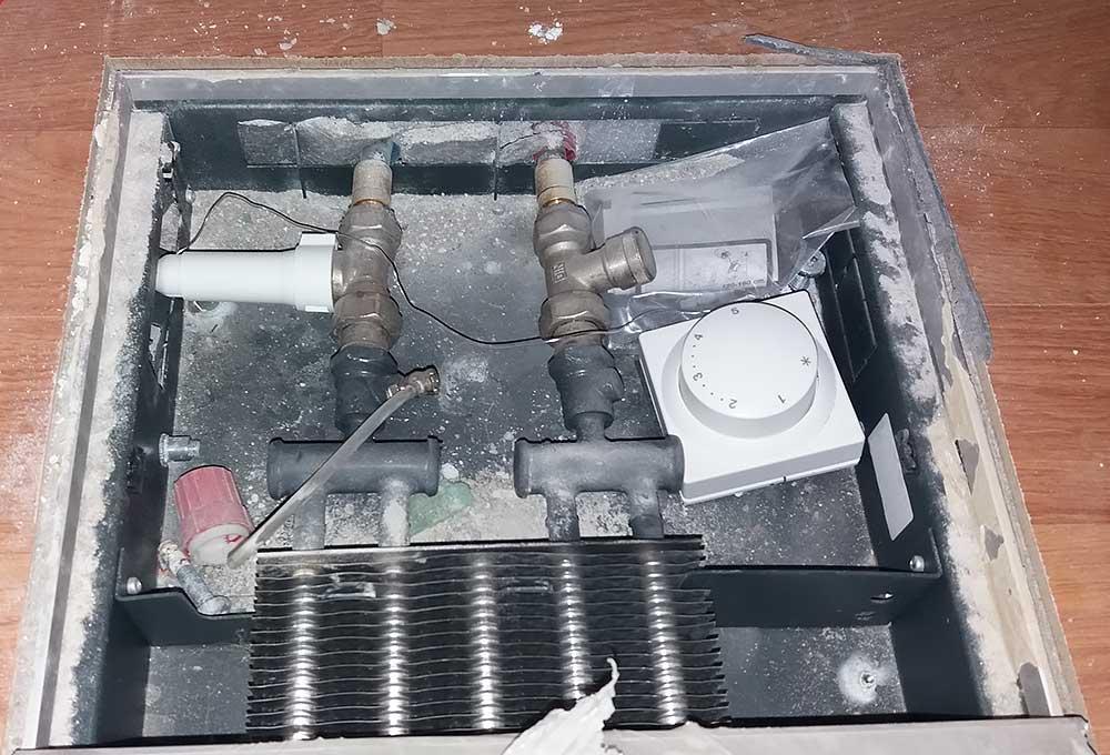 Проблемы монтажа классических внутрипольных конвекторов